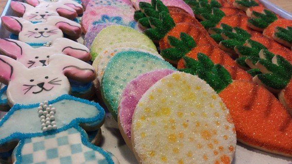 Hand Decorated Cookies from our case
