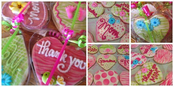 Heartfelt Thanks hand-decorated Cookie Boxes