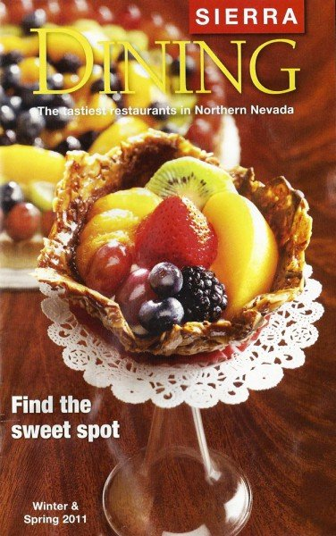 Josef's Vienna on Sierra Dining Magazine Cover