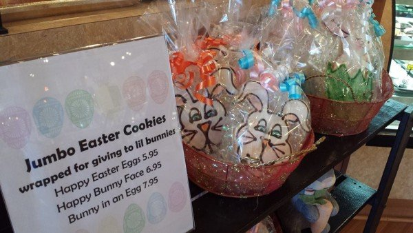 Happy Easter Bunny Face Cookies